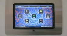 Philips Dynalite DTP170 Colour Touch Screen with Stainless Steel Metal Cover